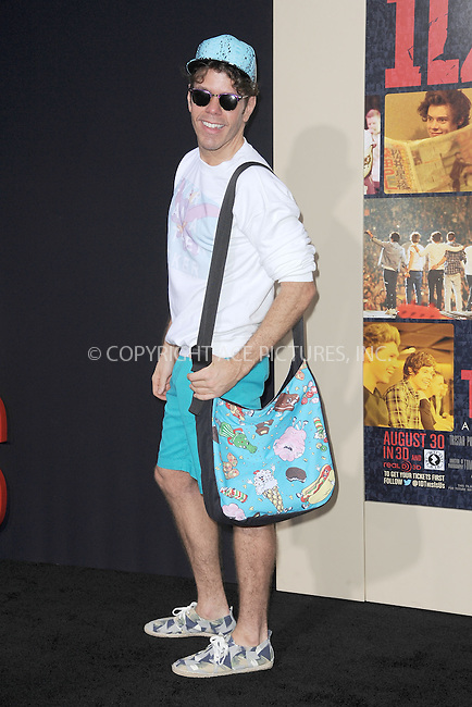 WWW.ACEPIXS.COM<br /> August 26, 2013...New York City <br /> <br /> Perez Hilton attends the world premiere of 'One Direction: This Is Us' at the Ziegfeld Theater on August 26, 2013 in New York City.<br /> <br /> Please byline: Kristin Callahan... ACEPIXS<br /> Ace Pictures, Inc: ..tel: (212) 243 8787 or (646) 769 0430..e-mail: info@acepixs.com..web: http://www.acepixs.com