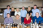 Double Birthday Celebrations for Geraldine Slattery and Breda Shanahan from Ballyheigue enjoying dinner at No.4 the Square on Saturday Pictured Front L-r Ger Slattery,  Geraldine Slattery, Breda Shanahan, Donagh Shanahan. Back l-r Edward Power, Catherine Power, Veronica Slattery, Mike Slattery , Marie and Mike Cantillon