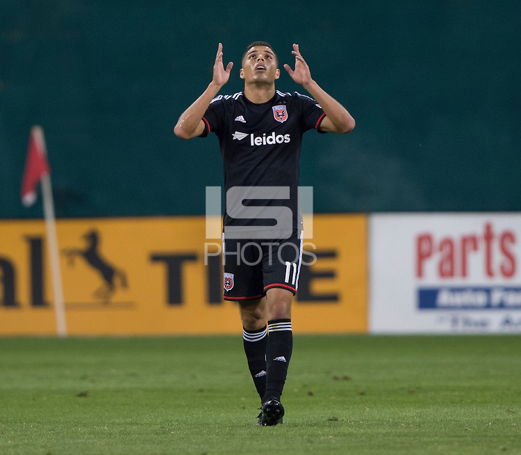 Washington, DC - August 17, 2014: D.C. United defeated the Colorado Rapids 4-2 during a Major League Soccer (MLS) match at RFK Stadium.