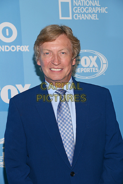 NEW YORK - MAY 11: Director Nigel Lythgoe arrives at the 2015 FOX Programming Presentation Post Party at the Wollman Rink in Central Park on May 11, 2015 in New York City. <br /> CAP/MPI/PGCS<br /> &copy;PGCS/MPI/Capital Pictures