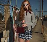 Sunday Mail , Fashion with Mirella , Neck Scarf , on location at Bowden , Model Abby Martin Azalea Models .Photo: Nick Clayton