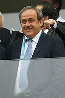 Michel Platini the President of UEFA