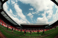 "Pix:Michael Steele/SWpix...Soccer. Manchester United, Old Trafford...COPYRIGHT PICTURE>>SIMON WILKINSON..Manchester United train at 'The Theatre of Dreams""."