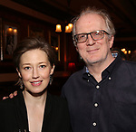 Carrie Coon and Tracy Letts attends The New York Drama Critics' Circle Awards at Feinstein's/54 Below on May 10, 2018 in New York City.