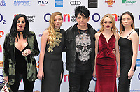 Gary Numan and his family at the Nordoff Robbins O2 Silver Clef Awards 2019, JW Marriott Grosvenor House Hotel, Park Lane, London, England, UK, on Friday 05th July 2019.<br /> CAP/CAN<br /> ©CAN/Capital Pictures