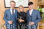 Students from Brookfield College enjoying the evening in Ballygarry House Hotel on Saturday<br /> L to r: Max Walsh, Emelia Jonutyte and Jack Costello.
