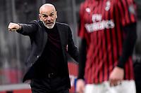 Stefano Pioli coach of AC Milan <br /> Milano 13/02/2020 Stadio San Siro <br /> Football Italy Cup 2019/2020 <br /> AC Milan - Juventus FC <br /> Photo Federico Tardito / Insidefoto