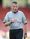 Referee Iain Brines.