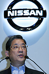 June 9, 2010 - Yokohama, Japan - Nissan Motor COO Toshiyuki Shiga introduces the new compact crossover 'Juke' at the company's headquarters in Yokohama, on June 9, 2010. Nissan said it is aiming to sell 1,300 units per month with starting price of 1.69 million yen (18,500 dollars). 'Juke', which combines features of a sports car and sport utility vehicle, will also be sold in Europe and the U.S. this autumn.