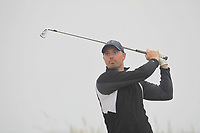 Christopher Moulds (Lisburn) on the 1st tee during Round 1 - Matchplay of the North of Ireland Championship at Royal Portrush Golf Club, Portrush, Co. Antrim on Wednesday 11th July 2018.<br /> Picture:  Thos Caffrey / Golffile