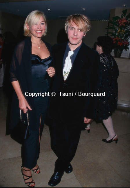"Duran Duran's Nick Rhodes and Girlfriend Madeleine Farley --- "" Tsuni / Bourquard ""Duran Duran's Nick Rhodes and Girlfriend Madeleine Farley Duran Duran's Nick Rhodes and Girlfriend Madeleine Farley"