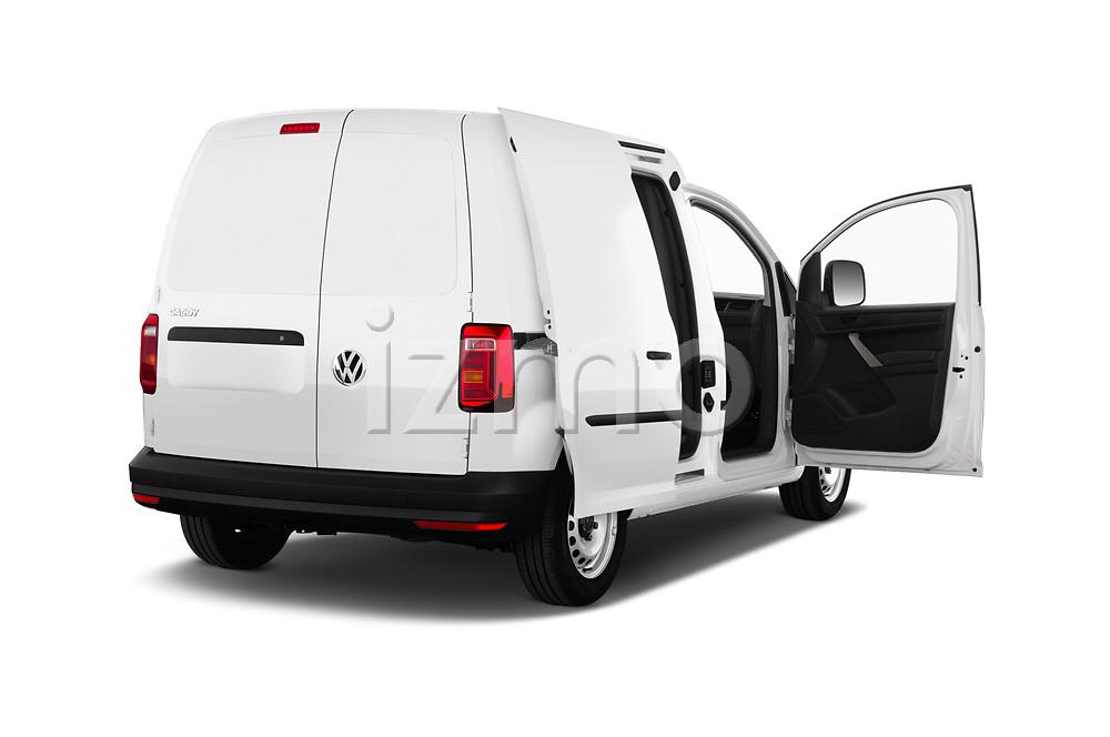 Car images close up view of a 2019 Volkswagen Caddy Van Base 4 Door Car van doors