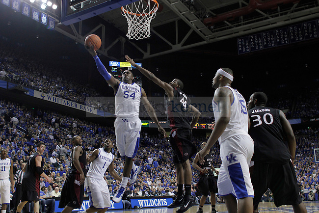 UK defeated University of South Carolina 82-61 on Thursday, Feb. 25, 2010 at Rupp Arena. Photo by Allie Garza | Staff
