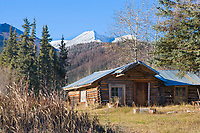 Historic Log Cabin, Wiseman, Alaska