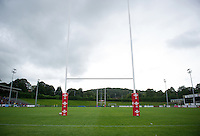 A general view of Eirias Park. Pre-season friendly match, between the Scarlets and Bath Rugby on August 20, 2016 at Eirias Park in Colwyn Bay, Wales. Photo by: Patrick Khachfe / Onside Images