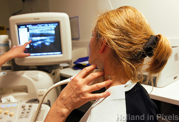 Open Dag van het OLVG ziekenhuis in Amsterdam. Vaatonderzoek.