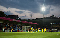 General view of Wycombe Attack during the Friendly match between Wycombe Wanderers and AFC Wimbledon at Adams Park, High Wycombe, England on 25 July 2017. Photo by Andy Rowland.