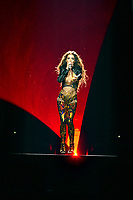 Eleni Foureira (Cyprus)<br /> Eurovision Song Contest Grand Final dress rehearsal, Lisbon, Portugal on May 11 2018.<br /> CAP/PER<br /> &copy;PER/CapitalPictures