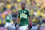 06 December 2015: Portland's Darlington Nagbe (LIB). The Columbus Crew SC hosted the Portland Timbers FC at Mapfre Stadium in Columbus, Ohio in MLS Cup 2015, Major League Soccer's championship game. Portland won the game 2-1.