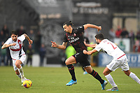 200111 Zlatan Ibrahimovic of AC Milan during the Serie A game between Cagliari and Milan on January 11, 2020 in Cagliari <br /> Cagliari 11-01-2020 Sardegna Arena <br /> Football Serie A 2019/2020 Cagliari - AC Milan <br /> Photo Daniele Mascolo/Bildbyran/Imago/Insidefoto <br /> ITALY ONLY