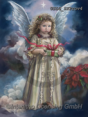 CHILDREN, KINDER, NIÑOS, paintings+++++,USLGSKPROV4,#K#, EVERYDAY ,Sandra Kock, victorian ,angels