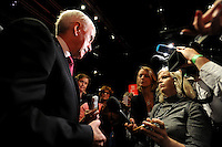 Liverpool, England. 24th September, 2016. <br /> Jeremy Corbyn is announced as the new leader of the Labour Party at the ACC Conference Centre. Mr Corbyn&rsquo;s victory followed nine weeks of campaigning against fellow candidate, Owen Smith. John McDonnell shadow chancellor, talks to reporters. This Mr Corbyn's second leadership victory in just over twelve months and was initiated by the decision of Angela Eagle to stand against him. Kevin Hayes/Alamy Live News