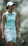 CHON BURI, THAILAND - FEBRUARY 17:  Michelle Wie of USA looks her tee shoot on the 18th hole during day two of the LPGA Thailand at Siam Country Club on February 17, 2012 in Chon Buri, Thailand.  Photo by Victor Fraile / The Power of Sport Images