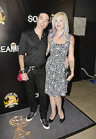 HOLLYWOOD,CA - OCTOBER 18: Javi Salvago and Amy Salvago attend the TRASH FIRE / Screamfest red carpet at TCL Chinese Theater in Hollywood, California on October 18, 2016. Credit: Koi Sojer/Snap'N U Photos /MediaPunch