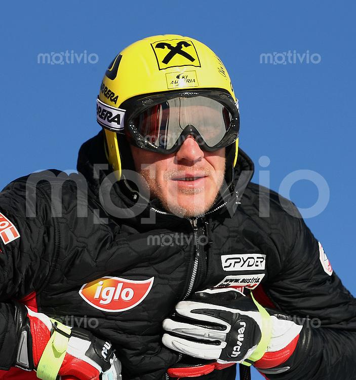 Ski Alpin; Saison 2005/2006 Abfahrt Herren Training Herrmann Maier (AUT)