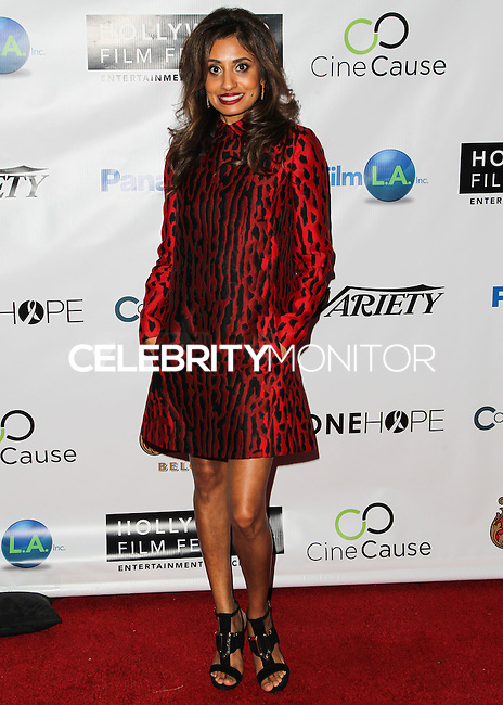 HOLLYWOOD, LOS ANGELES, CA, USA - OCTOBER 16: Seirah Royin arrives at the 2014 Hollywood Film Festival - Opening Night Gala held at ArcLight Hollywood on October 16, 2014 in Hollywood, Los Angles, California, United States. (Photo by Celebrity Monitor)