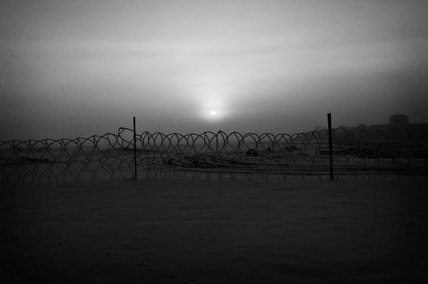 Near FOB Sharana, Paktika Province, Afghanistan, Friday, January 23, 2009.