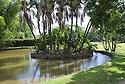 Garden in Mauritius.