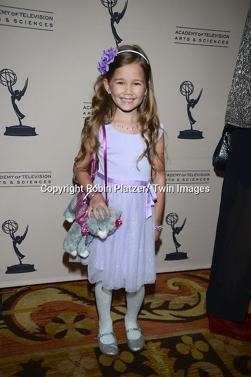 Brooklyn Rae Silzer from General Hospital attends the Academy Of Television Arts & Science Daytime Programming  Peer Group Celebration for the 40th Annual Daytime Emmy Awards Nominees party on June 13, 2013 at the Montage Beverly Hills in Beverly Hills, California.