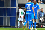 11.05.2019, PreZero Dual Arena, Sinsheim, GER, 1. FBL, TSG 1899 Hoffenheim vs. SV Werder Bremen, <br /> <br /> DFL REGULATIONS PROHIBIT ANY USE OF PHOTOGRAPHS AS IMAGE SEQUENCES AND/OR QUASI-VIDEO.<br /> <br /> im Bild: Theodor Gebre Selassie (#23, SV Werder Bremen) muss mit Verletzung vom Feld<br /> <br /> Foto &copy; nordphoto / Fabisch