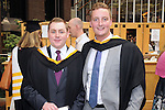 With Compliments,  25/8/2015  Attending the University of Limerick Conferrings was Kieran Hannan, Croagh, who was conferred with a LLB in Law Plus and Andrew O' Dwyer, Kells, Kilkenny, who was conferred with a BA in Economics and Sociology.<br /> Pic: Gareth Williams / Press 22