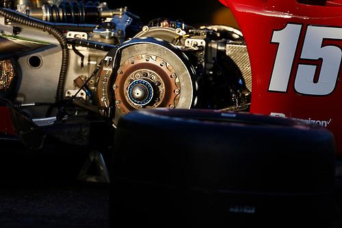 26-27 February, 2016, Avondale, Arizona USA<br /> Graham Rahal's car brake detail<br /> ©2016, Phillip Abbott<br /> LAT Photo USA