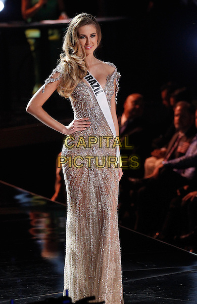 16 December 2015 - Las Vegas, Nevada -  Miss Brazil, Martina Brandt.  2015 Miss Universe Preliminary Competition at Axis at Planet Hollywood Resort and Casino. <br /> CAP/ADM/MJT<br /> &copy; MJT/AdMedia/Capital Pictures