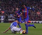19.02.2017 Barcelona. La liga game 23. Picture show Rafinha in action during game between FC Barcelona against Leganes at Camp Nou