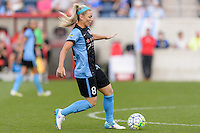 Chicago, IL - Sunday Sept. 04, 2016: Julie Johnston during a regular season National Women's Soccer League (NWSL) match between the Chicago Red Stars and Seattle Reign FC at Toyota Park.