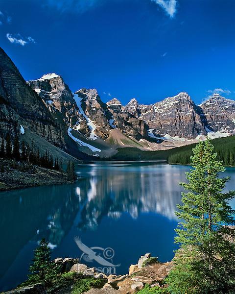 Moraine Lake & Valley of the Ten Peaks, Banff N.P., Canada