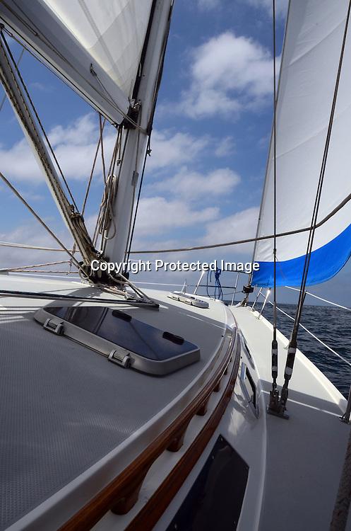 Stock Photo of Sailing Stock photo of sailing