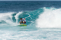Four Seasons,Kuda Huraa, Maldives (Wednesday, August 4, 2015) David Rastovich (AUS), the winner of the Single Fin Round. The worlds 'most luxurious surfing event,' the Four Seasons Maldives Surfing Champions Trophy kicked off today  at the famed 'Sultans Point' with the Single Fin Round.The swell was out of the South East today with waves in the 3'-4' range.  Neco Padaratz (BRA),  and Dave  Rastovich fought out the final in solid surf. Sofia Mulanovich  (PRU),  and Brad Gerlach (USA), finished = 5rd with Harley Englby (AUS) and Shane Dorian (HAW) finishing =3rd.   Photo: joliphotos.com