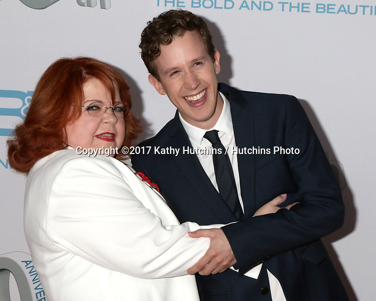 "LOS ANGELES - MAR 18:  Patrika Darbo, Alex Wyse at the ""The Bold and The Beautiful"" 30th Anniversary Party at Clifton's Downtown on March 18, 2017 in Los Angeles, CA"