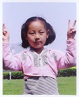 Li Jingwei (7), born in May 2001. Missing in Taiyuan City on 31 July 2008.   Girls in China are increasingly targeted and stolen as there is a shortage of wives as the gender imbalance widens with 120 boys for every 100 girls..PHOTO BY SINOPIX