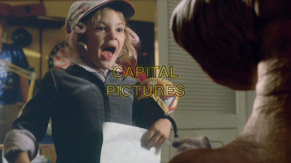 DREW BARRYMORE.in E.T. The Extra Terrestrial-20th Anniversary.Filmstill - Editorial Use Only.Ref: 11554.CAP/AWFF.Supplied by Capital Pictures
