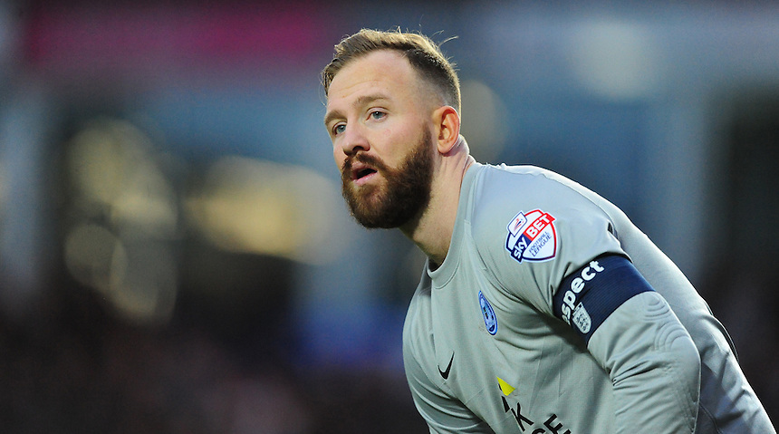 Peterborough United's Ben Alnwick<br /> <br /> Photographer Chris Vaughan/CameraSport<br /> <br /> Football - The FA Cup Third Round - Peterborough United v Preston North End - Saturday 9th January 2016 - ABAX Stadium - Peterborough <br /> <br /> &copy; CameraSport - 43 Linden Ave. Countesthorpe. Leicester. England. LE8 5PG - Tel: +44 (0) 116 277 4147 - admin@camerasport.com - www.camerasport.com