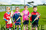 Enjoying the Hurling and Camogie Cul Camps at BALLYDUFF GAA on Tuesday were l-r  Fionn Houlihan, Ava Fitzgerald, Megan Moriarty and Jake Rochford