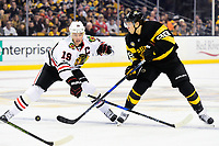 NHL 2017: Blackhawks vs Bruins JAN 20