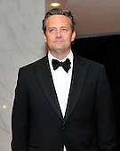 Matthew Perry arrives for the 2013 White House Correspondents Association Annual Dinner at the Washington Hilton Hotel on Saturday, April 27, 2013..Credit: Ron Sachs / CNP.(RESTRICTION: NO New York or New Jersey Newspapers or newspapers within a 75 mile radius of New York City)