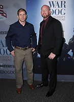06 November  2017 - Los Angeles, California - John Dixon, Donovan Hunter. &quot;War Dog: A Soldier's Best Friend&quot; Los Angeles premiere held at Director's Guild of America in Los Angeles. <br /> CAP/ADM/BT<br /> &copy;BT/ADM/Capital Pictures